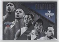 Al-Farouq Aminu, Anthony Davis, Eric Gordon, Jrue Holiday, Ryan Anderson