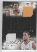 Austin Rivers, Anthony Davis /99