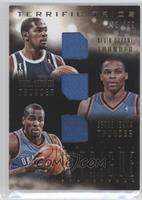 Russell Westbrook, Serge Ibaka, Kevin Durant /199