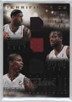 Chris Bosh, Dwyane Wade, LeBron James /199