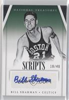Bill Sharman /49