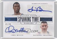 Chris Mullin, Harrison Barnes /49