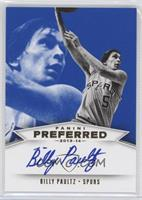Panini Signatures - Billy Paultz /49