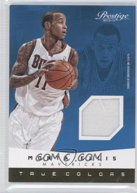 2013-14 Panini Prestige - True Colors Materials #21 - Monta Ellis