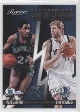 2013-14 Panini Prestige Connections #14 - Dirk Nowitzki, Mark Aguirre