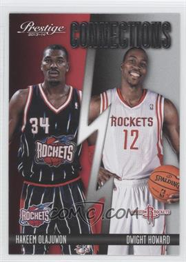 2013-14 Panini Prestige Connections #3 - Hakeem Olajuwon, Dwight Howard