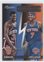 Bernard King, Carmelo Anthony