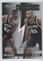 David Robinson, Tim Duncan