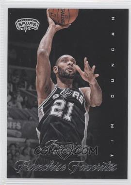 2013-14 Panini Prestige Franchise Favorites #27 - Tim Duncan