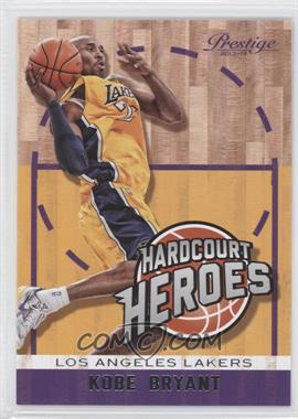 2013-14 Panini Prestige Hardcourt Heroes #2 - Kobe Bryant