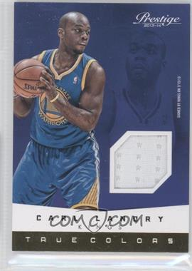 2013-14 Panini Prestige True Colors Materials #45 - Carl Landry