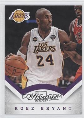 2013-14 Panini Prestige #154 - Kobe Bryant