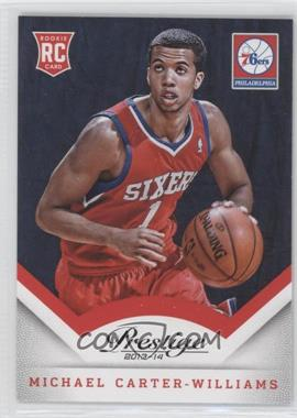2013-14 Panini Prestige #171 - Michael Carter-Williams