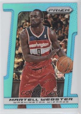 2013-14 Panini Prizm - [Base] - Light Blue Prizms Die-Cut #90 - Martell Webster /199