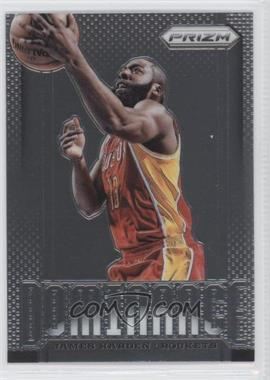 2013-14 Panini Prizm - Dominance #5 - James Harden