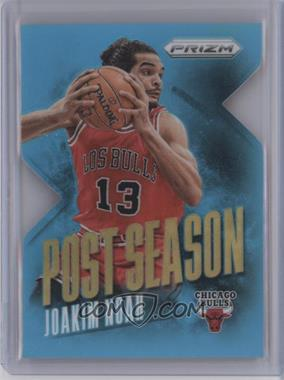 2013-14 Panini Prizm - Post Season - Light Blue Prizms Die-Cut #5 - Joakim Noah /199