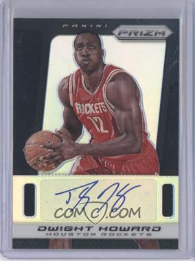 2013-14 Panini Prizm Autographs Black Prizms #198 - Dwight Howard /1