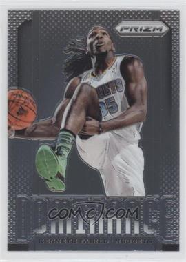 2013-14 Panini Prizm Dominance #16 - Kenneth Faried