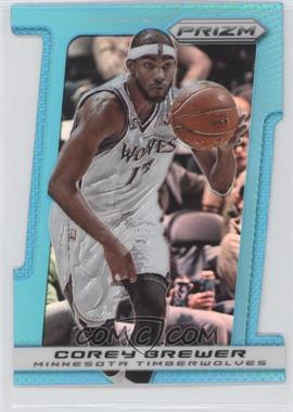 2013-14 Panini Prizm Light Blue Prizms Die-Cut #192 - Corey Brewer /199