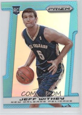 2013-14 Panini Prizm Light Blue Prizms Die-Cut #296 - Jeff Withey /199