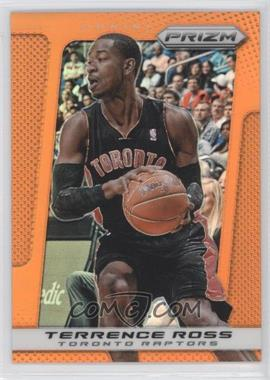 2013-14 Panini Prizm Orange Prizms #121 - Terrence Ross /60