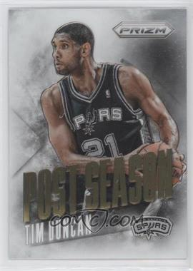 2013-14 Panini Prizm Post Season #9 - Tim Duncan