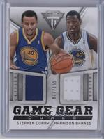 Harrison Barnes, Stephen Curry /155