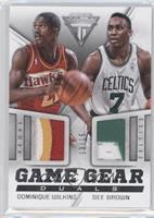 Dee Brown, Dominique Wilkins, Dominique Wilkins /15