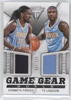 Kenneth Faried, Ty Lawson /125