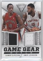 Amir Johnson, DeMar DeRozan /155