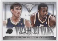 Derrick Favors, Gordon Hayward /149