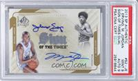 Julius Erving, Michael Jordan [PSA 9]
