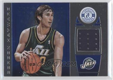 2013-14 Totally Certified Memorabilia Totally Blue #90 - Gordon Hayward /49