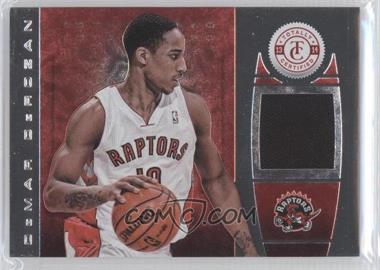 2013-14 Totally Certified Memorabilia Totally Red #117 - DeMar DeRozan /99