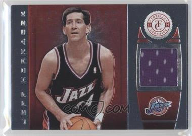 2013-14 Totally Certified Memorabilia Totally Red #127 - Jeff Hornacek /99