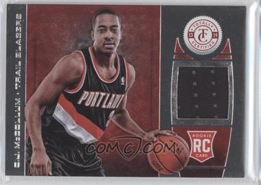 2013-14 Totally Certified Memorabilia Totally Red #196 - C.J. McCollum /199
