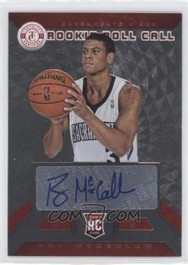 2013-14 Totally Certified Rookie Roll Call Signatures Red #17 - Ray McCallum /99