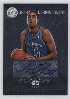 2013-14 Totally Certified Rookie Roll Call Signatures Silver #36 - Grant Jerrett