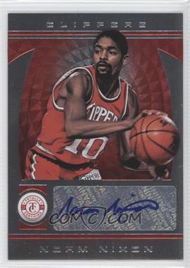 2013-14 Totally Certified Signatures Totally Red #216 - Norm Nixon /99