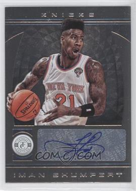 2013-14 Totally Certified Signatures Totally Silver #20 - Iman Shumpert