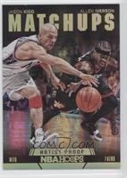 Allen Iverson, Jason Kidd /99