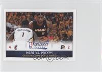Heat vs. Pacers 4-2 (Lebron James, Lance Stephenson)
