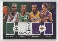 Kevin Garnett, Pau Gasol, Kobe Bryant, Ray Allen /99