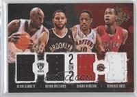 Deron Williams, Kevin Garnett, DeMar DeRozan, Terrence Ross /99