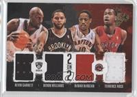 Deron Williams, Kevin Garnett, DeMar DeRozan, Terrence Ross #24/99