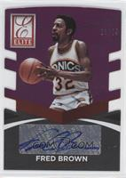 Fred Brown /74