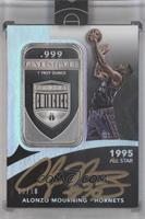 Alonzo Mourning /10 [ENCASED]