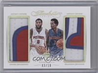 Brandon Jennings, Andre Drummond /10