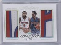 Andre Drummond, Brandon Jennings /15