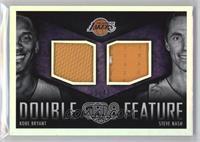 Kobe Bryant, Steve Nash /49
